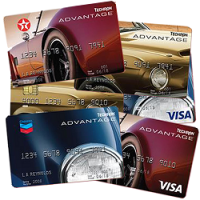 Chevron and Texaco Advantage Credit Cards