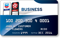 Chevron and Texaco Business Credit Card