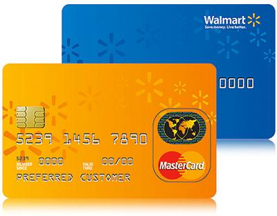 Wallmart Credit Card